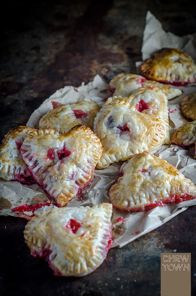 Cherry Berry Love Pies | Chew Town Food Blog