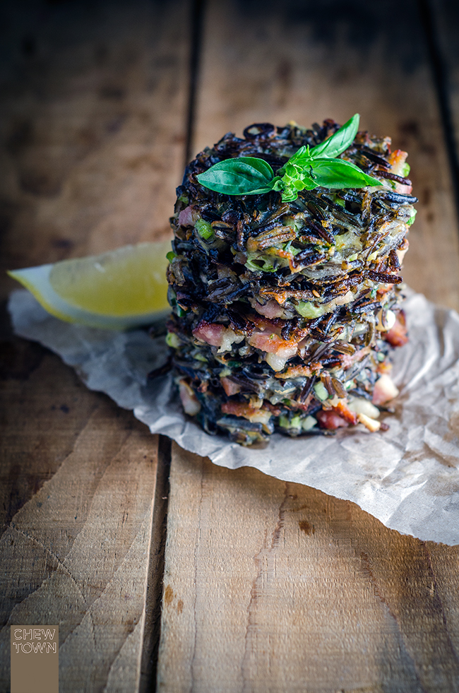 Wild Rice and Speck Fritters | Chew Town Food Blog