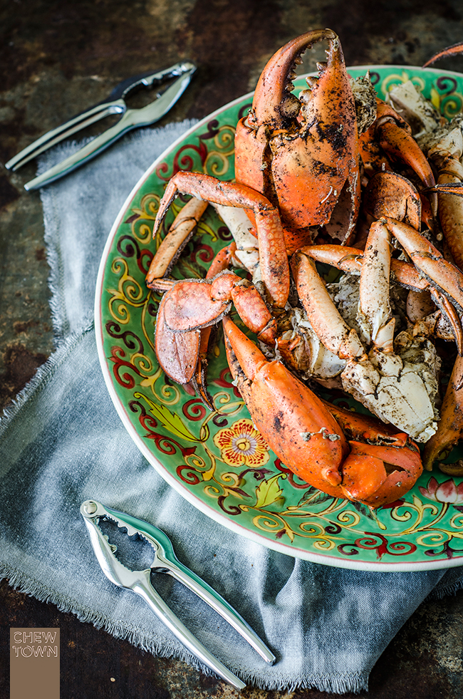 4-Ingredient Salt and Pepper Mud Crabs | Chew Town Food Blog