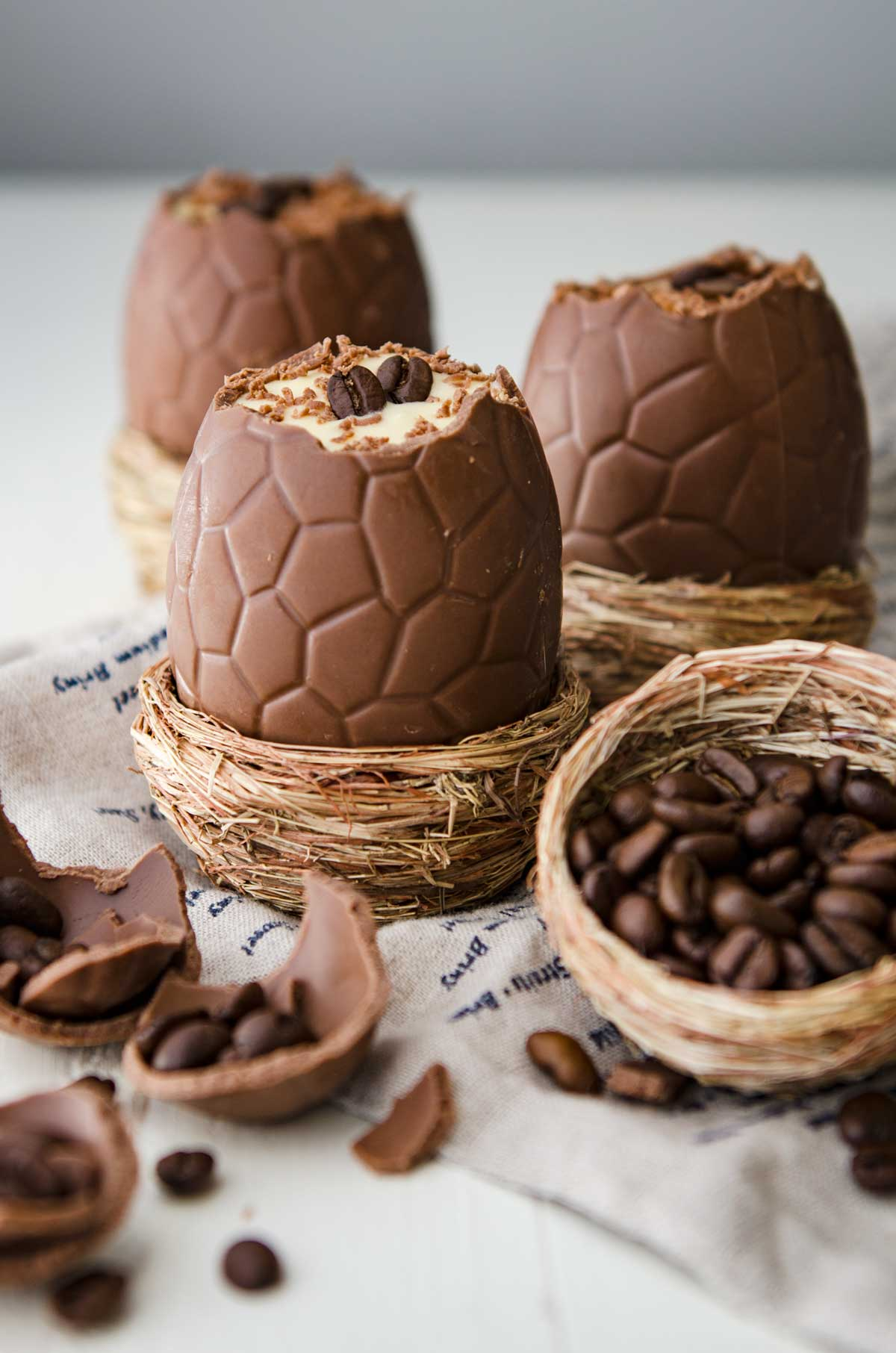 Tiramisù Filled Easter Eggs | Chew Town Food Blog