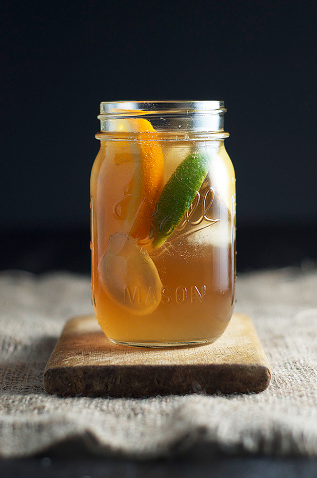 Dark and Stormy Cocktail Recipe - Chew Town