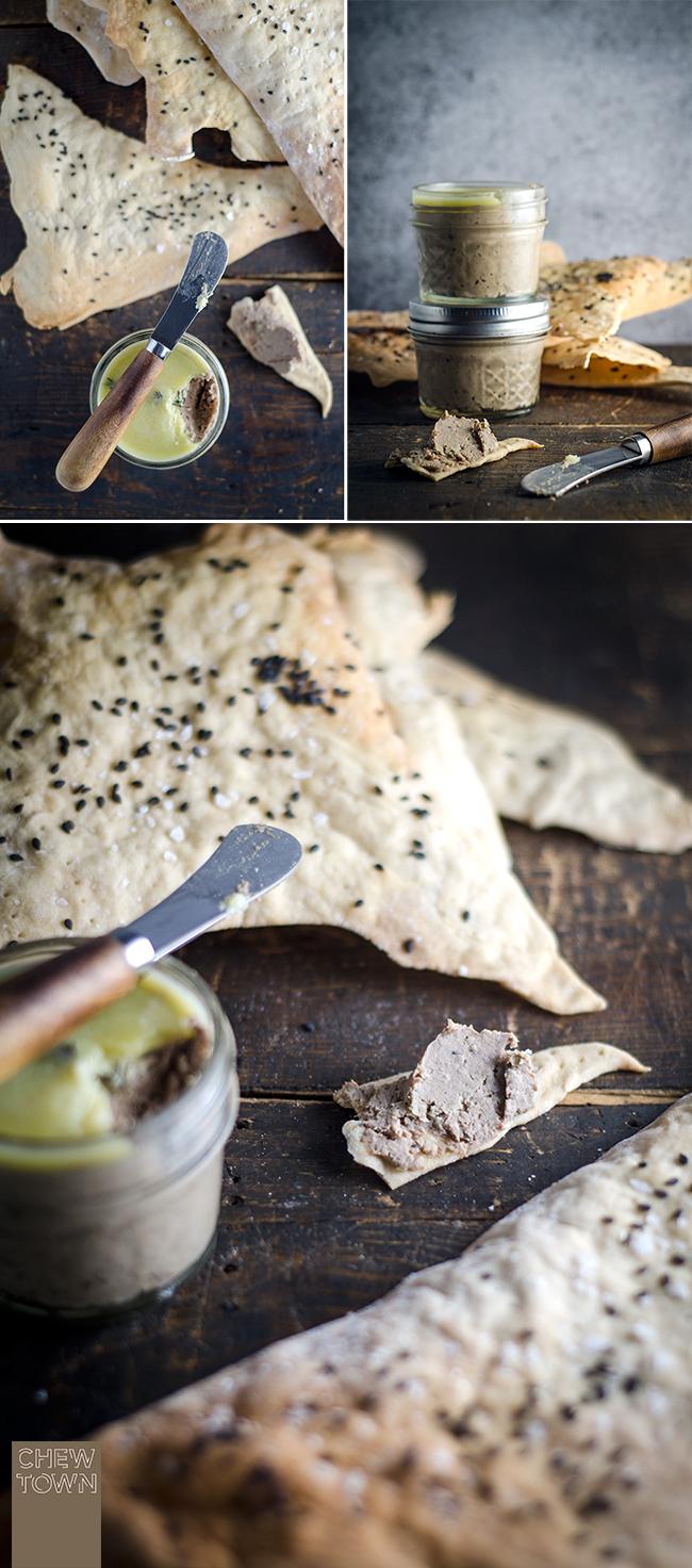 Spelt Flour Crackers | Chew Town Food Blog