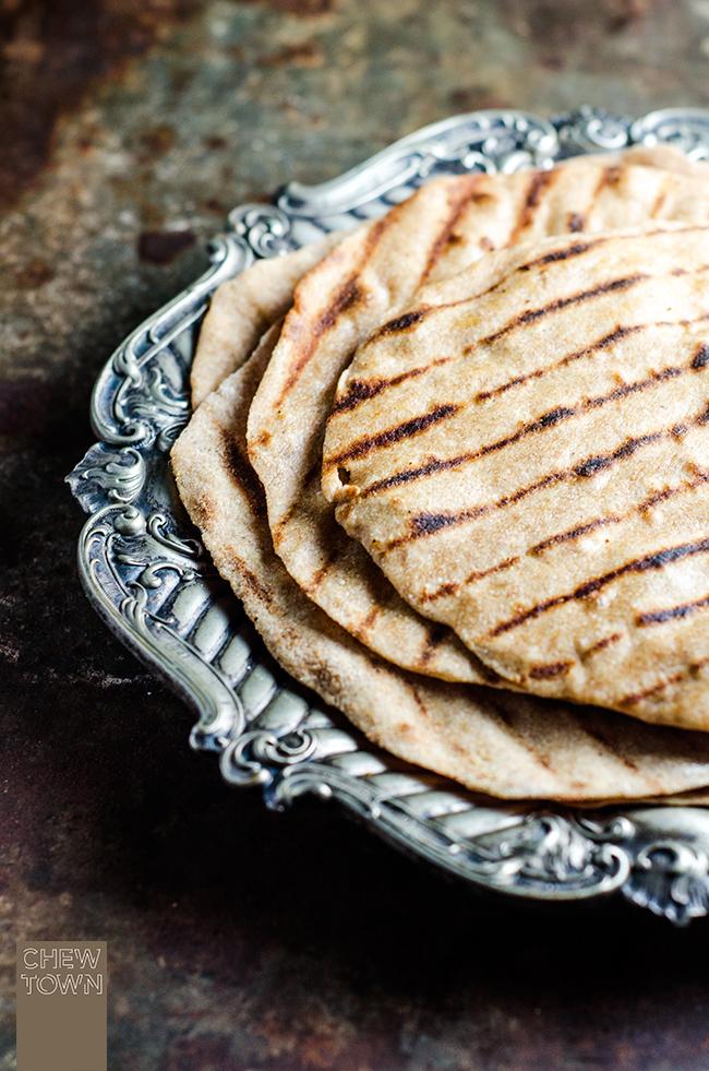 Spelt Flatbread | Chew Town Food Blog