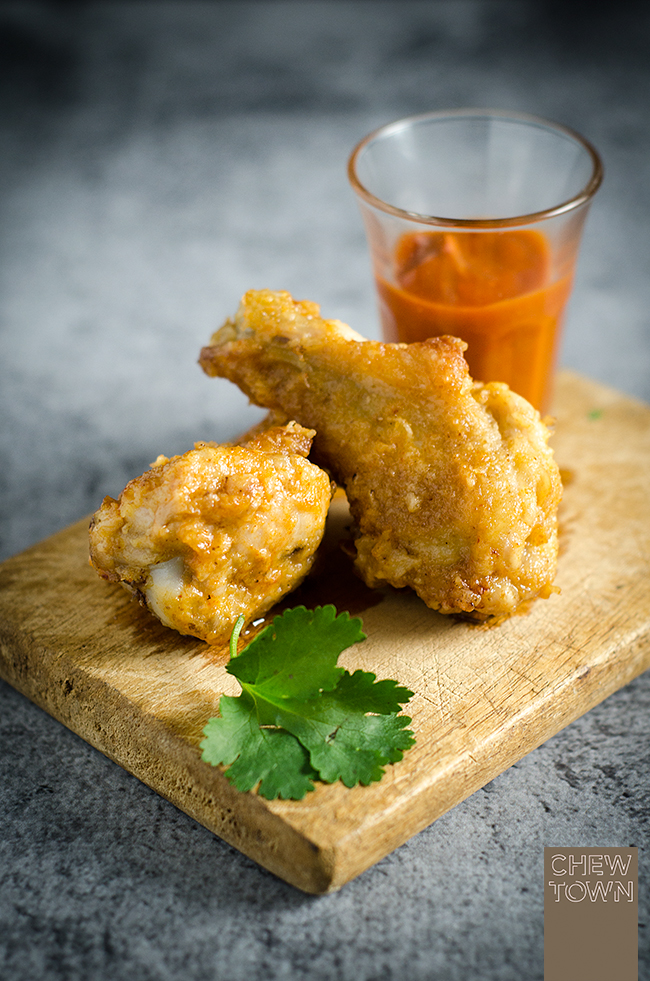 Cholula Hot Wings | Chew Town Food Blog