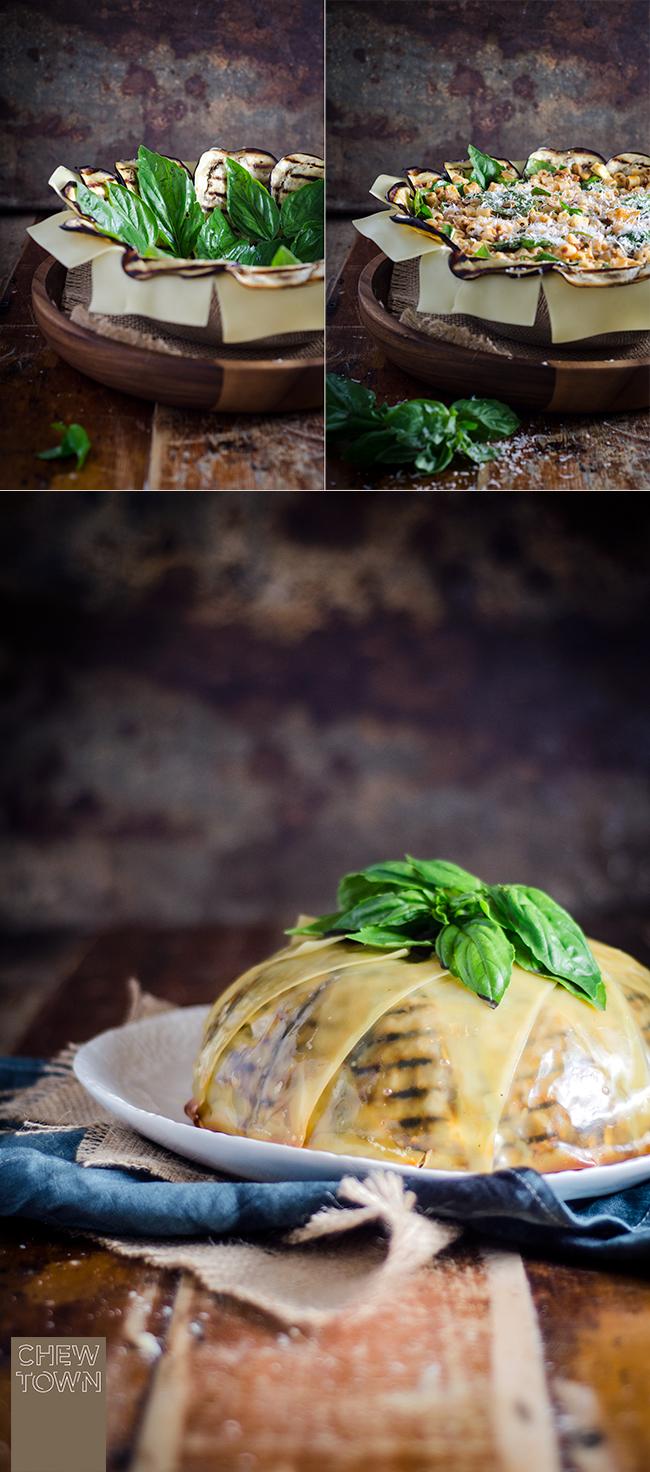 Pasta Timballo Recipe | Chew Town Food Blog