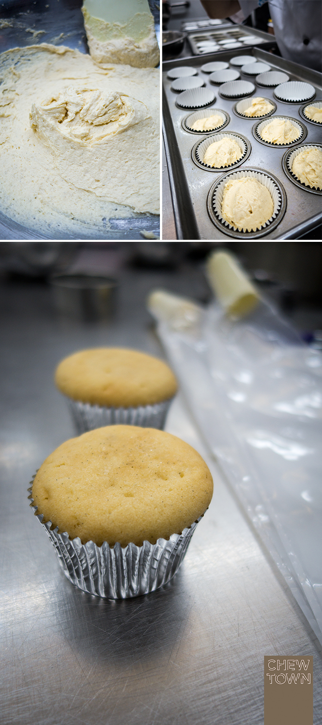 Sparkle Vanilla Cupcakes Recipe | Chew Town Food Blog