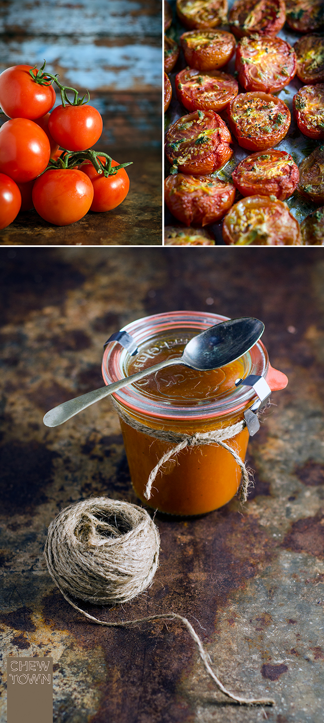 Roasted Tomato Sauce Recipe | Chew Town Food Blog