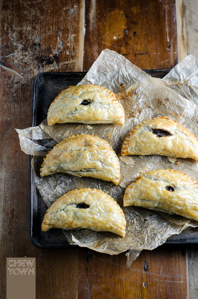 Mushroom and Cavolo Nero Hand Pies | Chew Town Food Blog