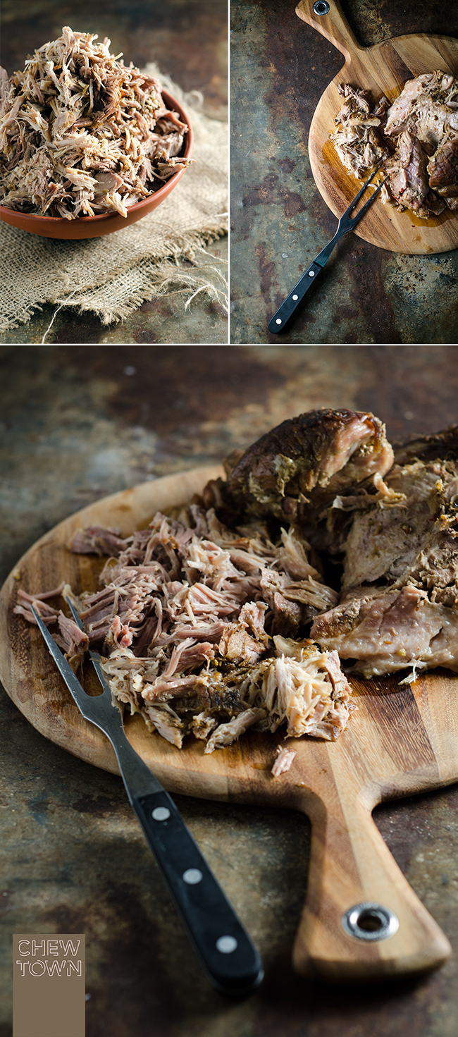 Slow Roasted Pulled Pork | Chew Town Food Blog