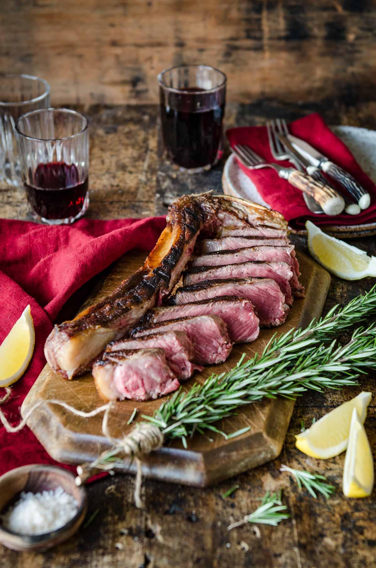Bistecca alla Fiorentina a Casa | Florentine Steak at home | Chew Town Food Blog