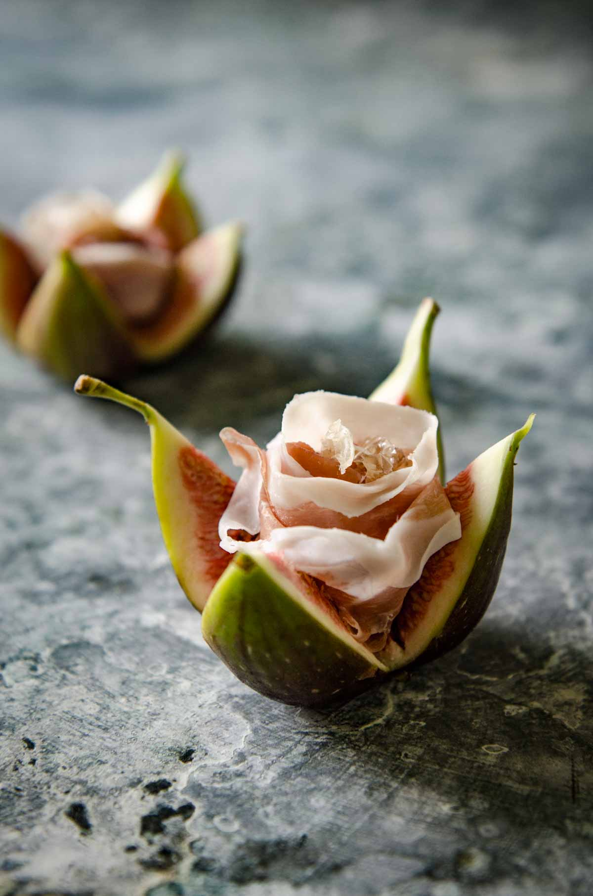Fig and Prosciutto Roses | Chew Town Food Blog
