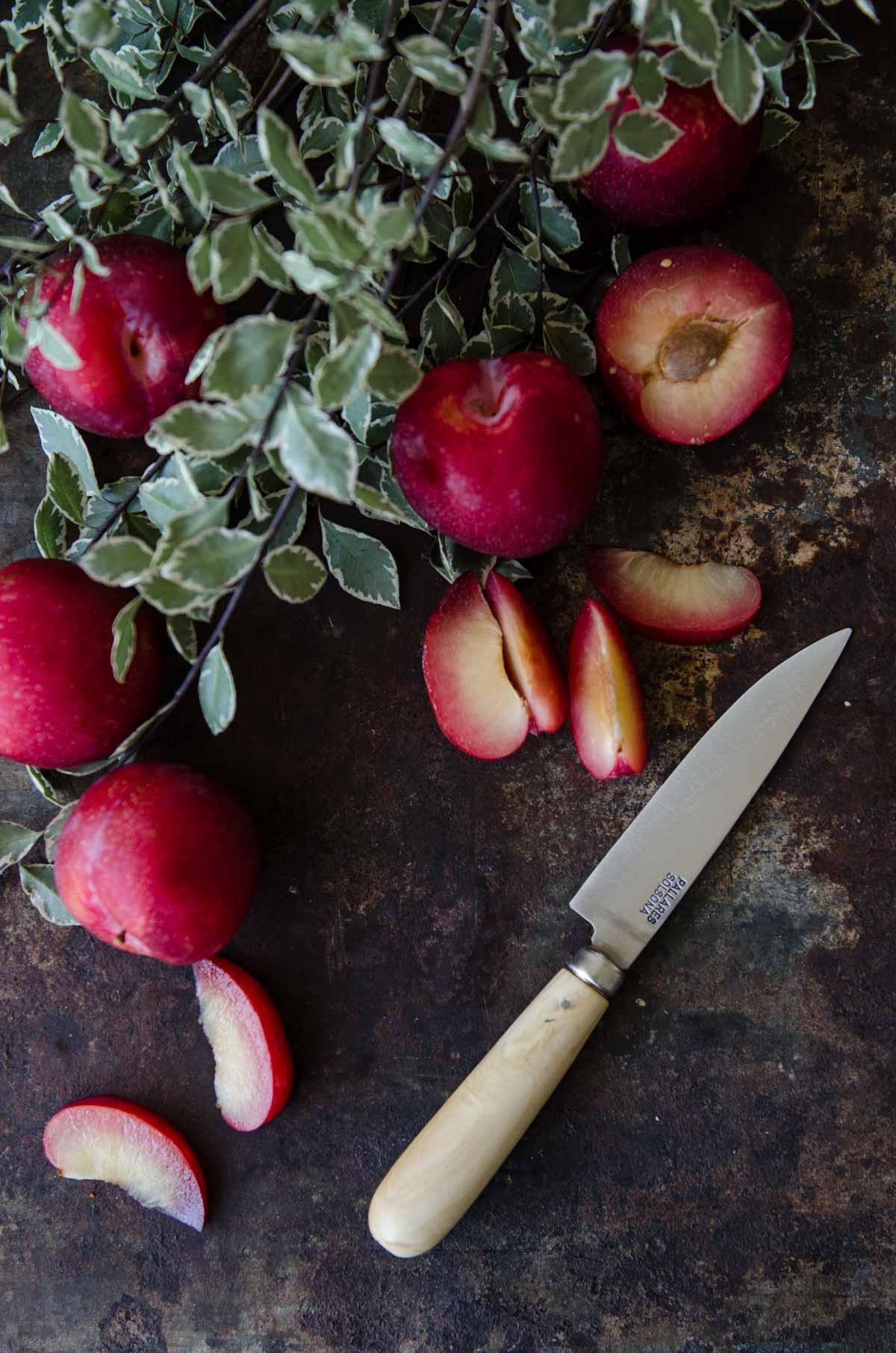 Gluten Free Plum and Raspberry Cake   Chew Town Food Blog
