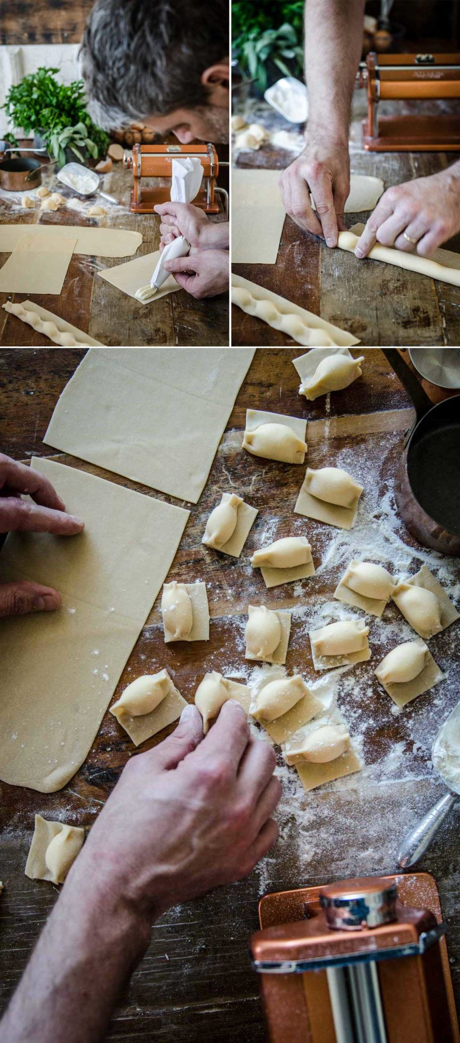 Casoncelli - How to make Filled Pasta | Chew Town Food Blog