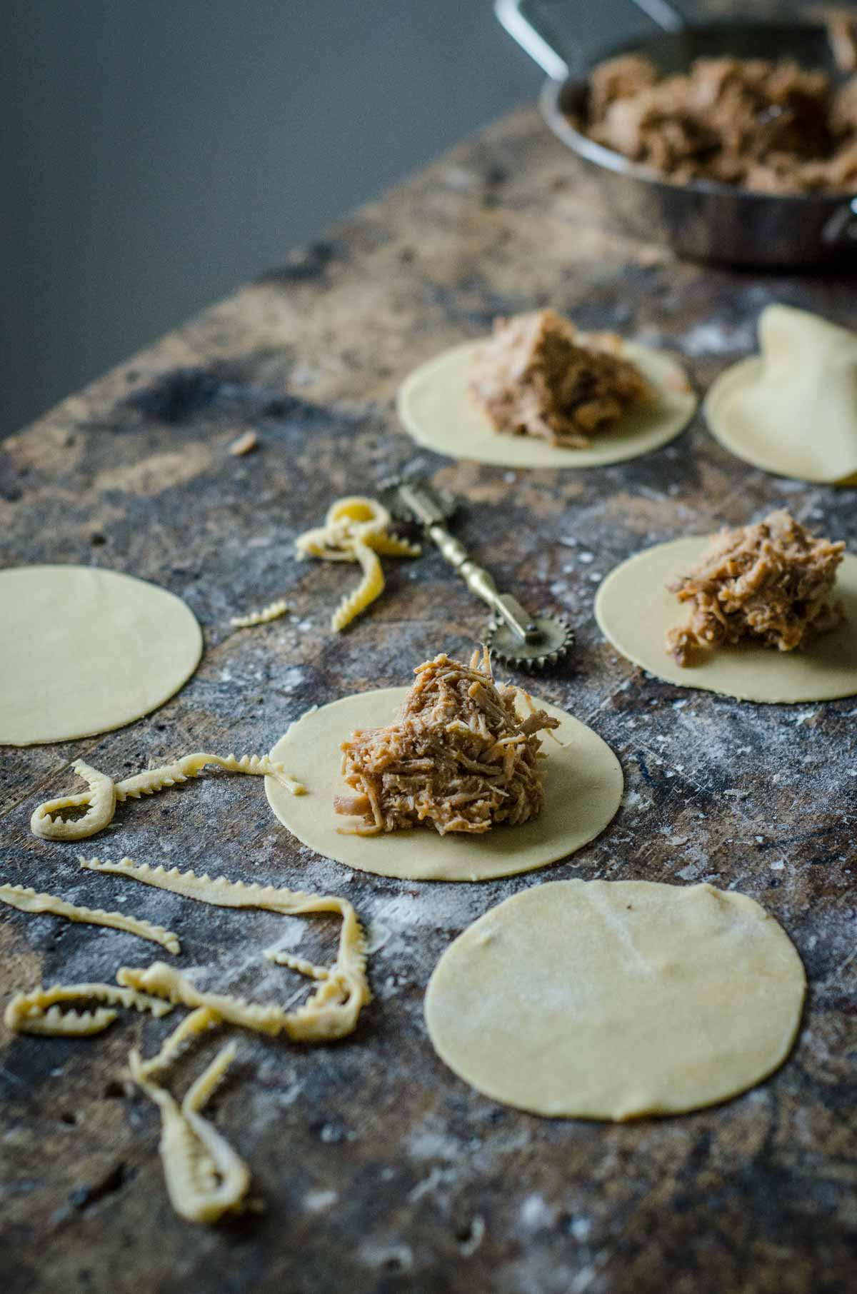 Italian Pulled Pork Ravioli | Chew Town Food Blog