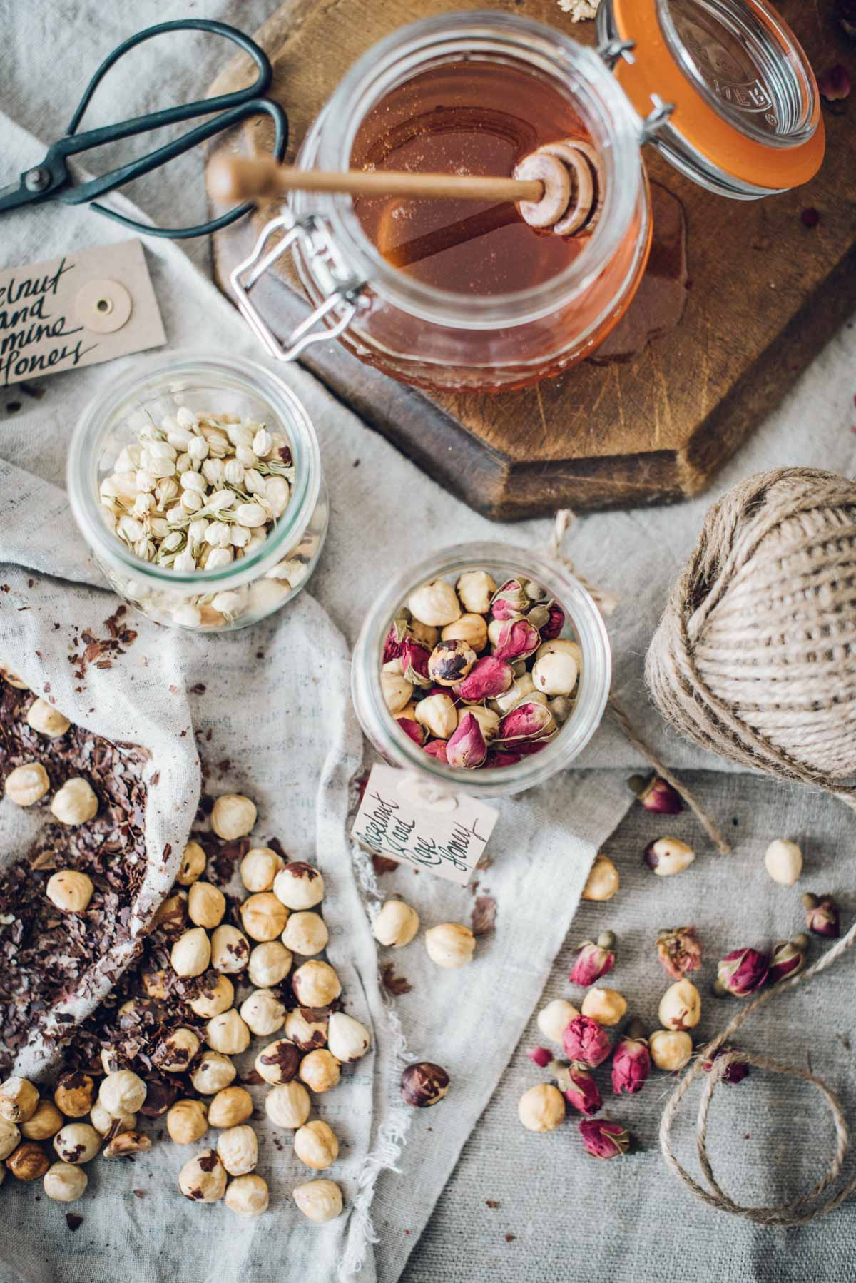 Hazelnut and Flower Honey | Chew Town Food Blog
