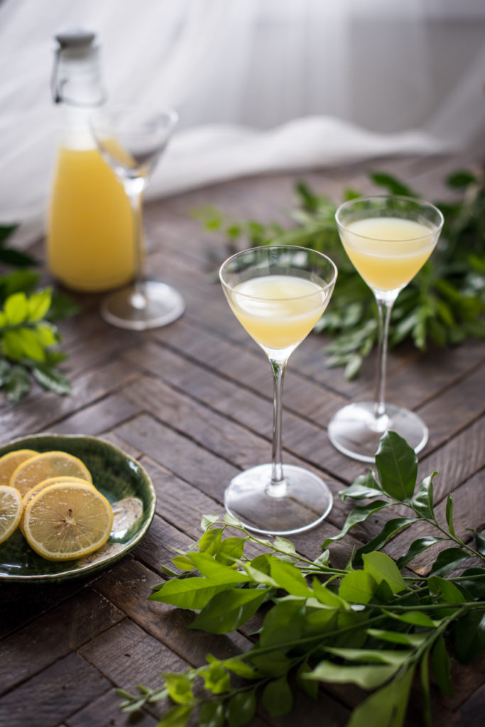 Homemade Limoncello | Chew Town Food Blog
