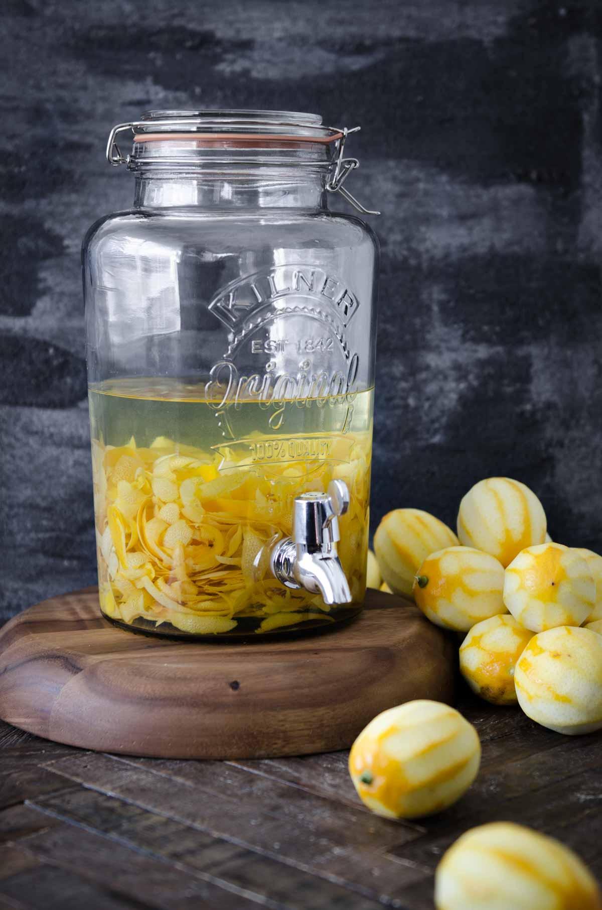 Homemade Limoncello | Chew Town Food Blog