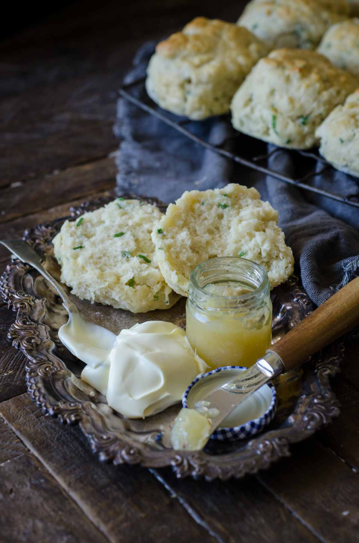Chive and Parmesan Scones | Chew Town Food Blog