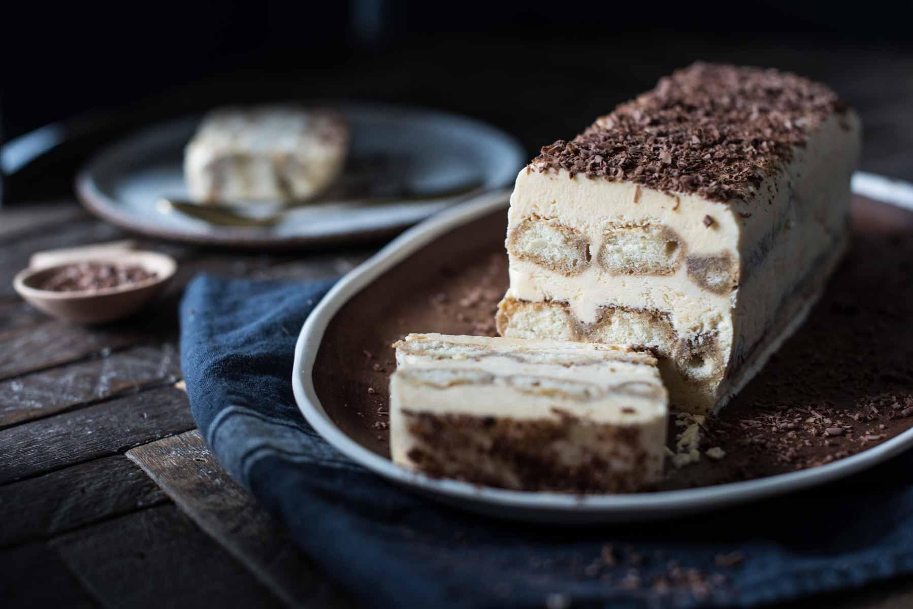 Tiramisù Semifreddo | Chew Town Food Blog