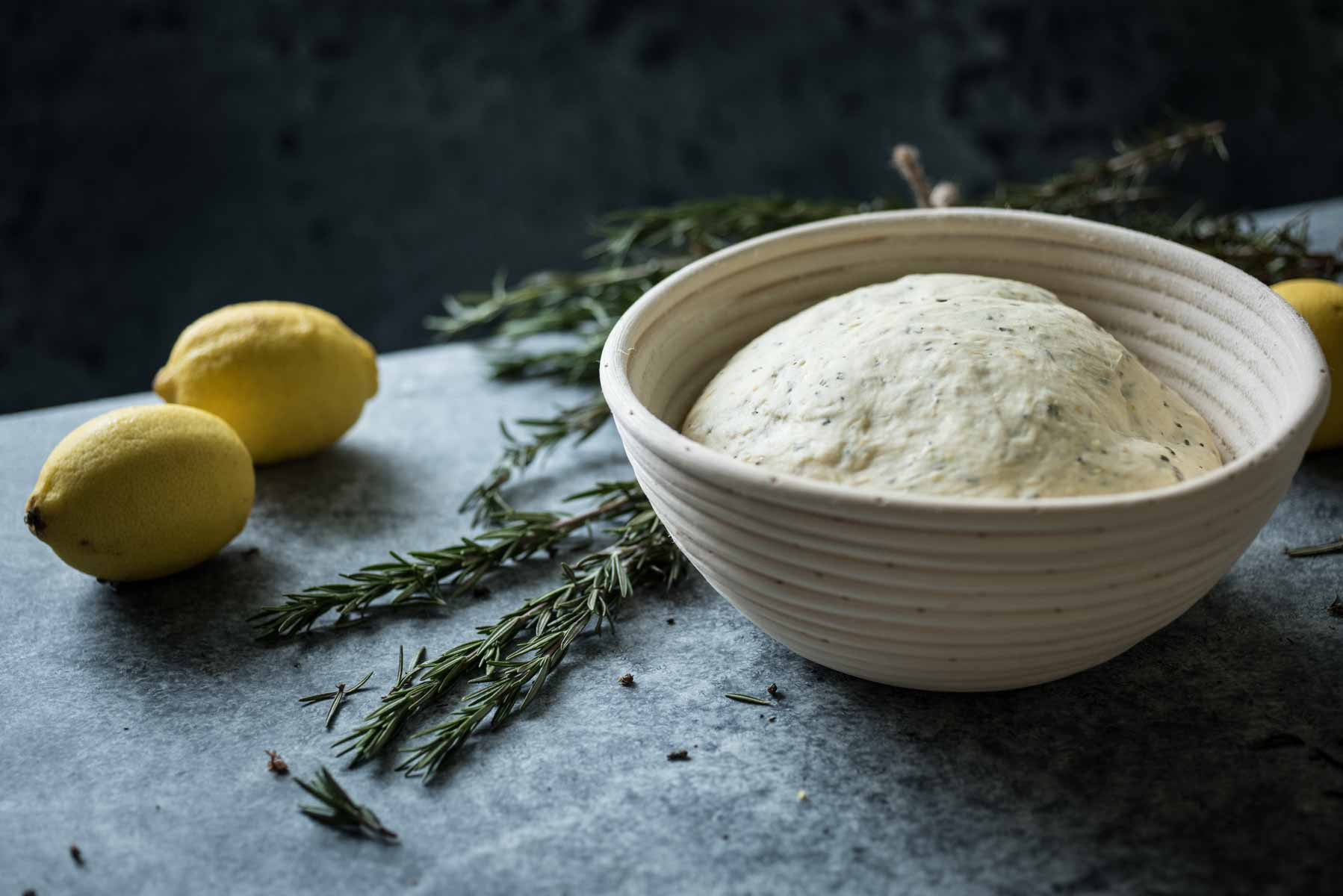 Homemade Lemon and Rosemary Bread | Chew Town Food Blog