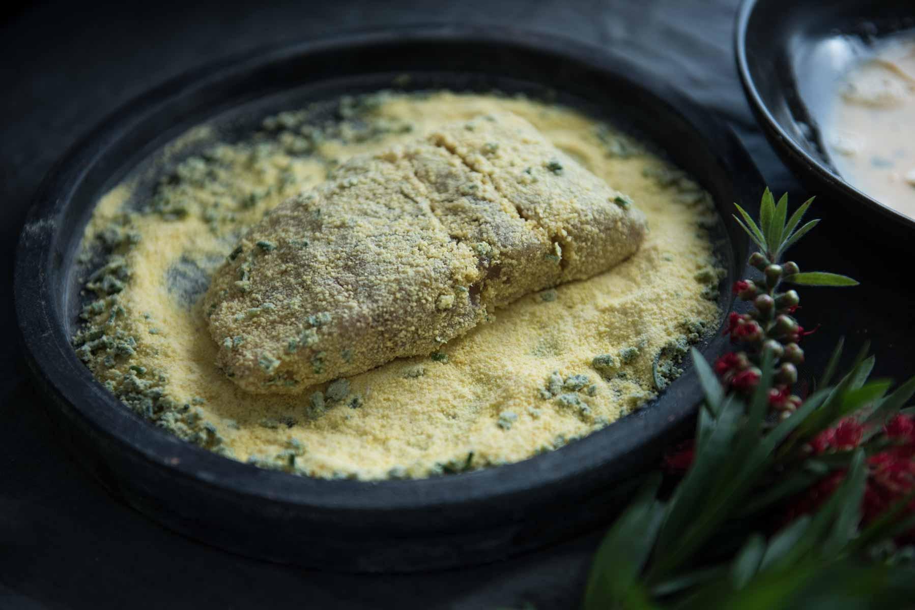 Barramundi Fish Burger | Chew Town Food Blog