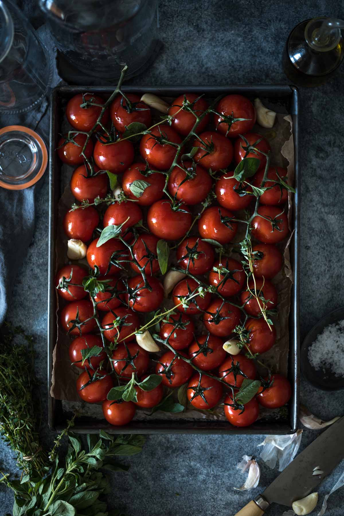 Confit Cherry Tomatoes | Chew Town Food Blog