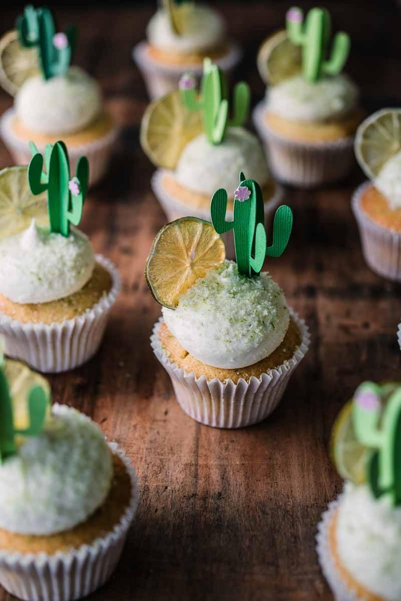 Margarita Cupcakes | Chew Town Food Blog
