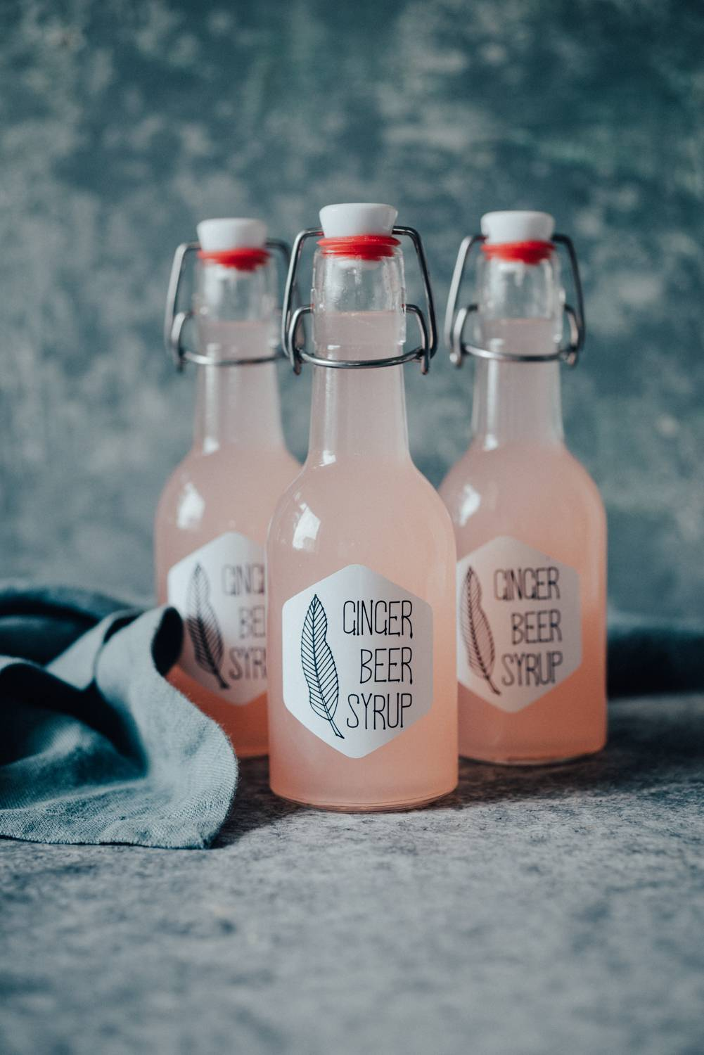 Ginger Beer Syrup | Chew Town Food Blog