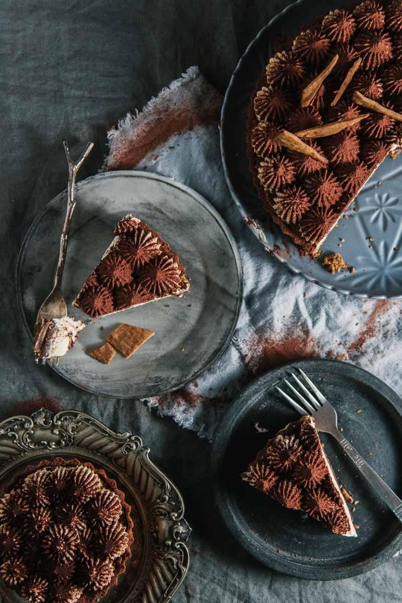 Tiramisù Tart | Chew Town Food Blog