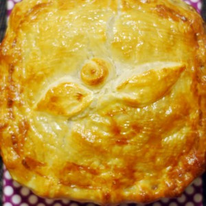 Beef and Mushroom Pie - The perfect Winter Treat