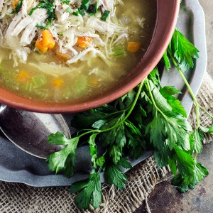 Brodo di Pollo - Italian Chicken Soup