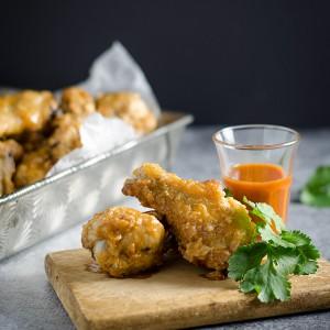 Baked Cholula Hot Wings