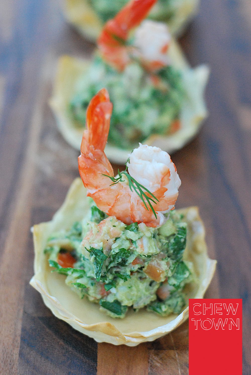 Prawn Avocado Crowns and Lobster Tails with Chilli Lime Butter | Chew Town Food Blog