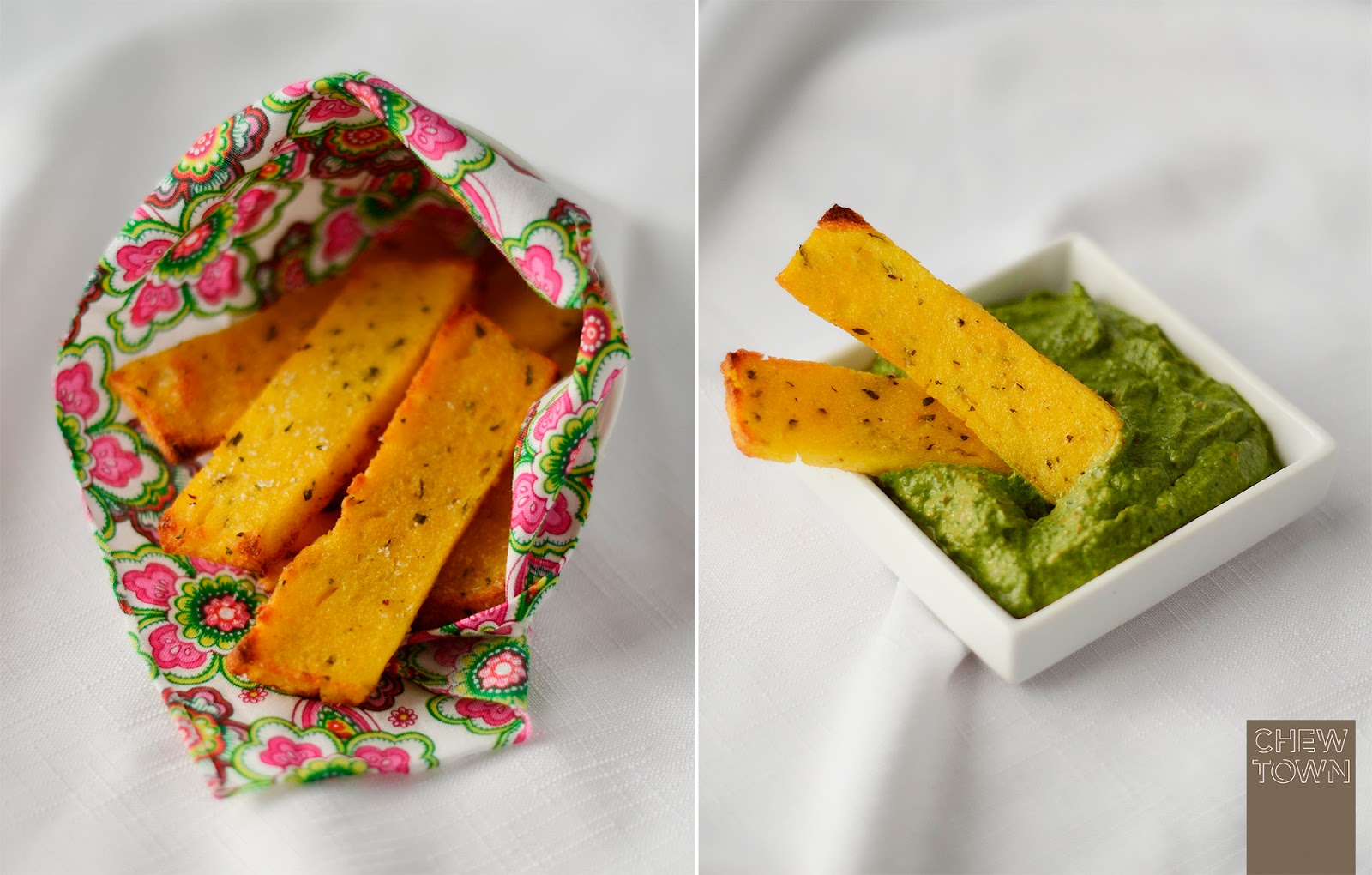 Cheese polenta chips images - Baked polenta cheese recipes ...